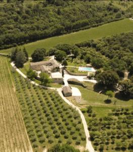 vue aérienne Domaine